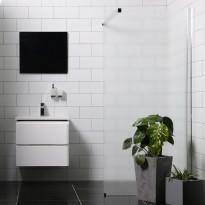 Suihkuseinä Bathlife Mångsidig P/P suora, eri vaihtoehtoja