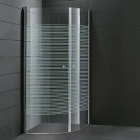Suihkunurkka Orio 012, 900x900mm, raidallinen