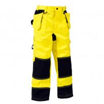 Lasten housut 1524 Highvis, keltainen/mariininsininen