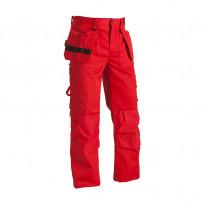 Riipputaskuhousut 1530, punainen, 65% polyesteri/35% puuvilla, 300 g/m²