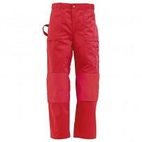 Housut 1570, punainen, 65% polyesteri/35% puuvilla, 300 g/m²