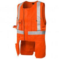 Highvis riipputaskuliivi 3027, oranssi