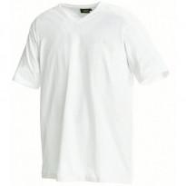 T-paita 3360, v-kaulus, valkoinen
