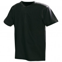 T-paita 3360, v-kaulus, musta