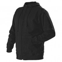 Huppari Blåkläder 3366, vetoketjulla, musta