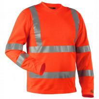 Pitkähihainen T-paita Highvis 3381, oranssi