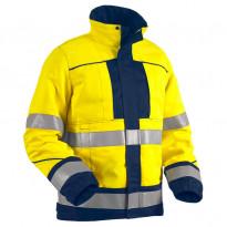 Takki Highvis 4076, palosuojattu, keltainen/mariininsininen