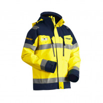 Kuoritakki Highvis GORE-TEX® 4808, keltainen/mariininsininen