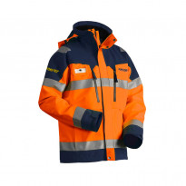 Kuoritakki Highvis GORE-TEX®, 4808, oranssi/mariininsininen