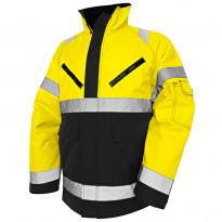 Talvitakki Highvis 4827, keltainen/musta