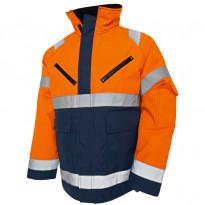 Talvitakki Highvis 4827, oranssi/mariininsininen