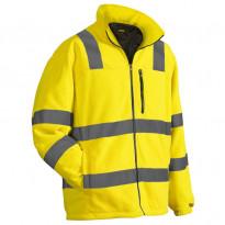 Fleecepusero Highvis 4853, keltainen