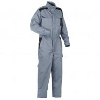 Haalari 6054, harmaa/musta, 65% polyesteri/35% puuvilla 240 g/m²
