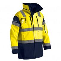 Kuoritakki Highvis GORE-TEX® 8831, keltainen/mariininsininen