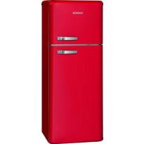 Jääkaappipakastin BomannDTR353, 55cm, punainen