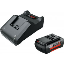 Akku- ja laturipaketti Bosch Starter Set 36V, 2.0Ah, AL 36-20 CV