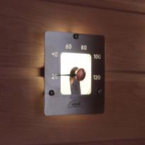 Saunan lämpömittari SQ, lasi ja rst
