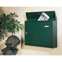 Postilaatikko Bretagne nr.2, 413x335x103mm, vihreä