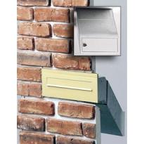 Postilaatikko Frankfort PM, 280x120mm,syvyys säädettävissä 260-418mm, harmaa