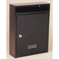 Postilaatikko Norma NM, 260x340x85mm, ruskea tai valkoinen