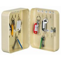 Avainkaappi 24 avaimelle, 250x180x60mm, kerma tai sininen