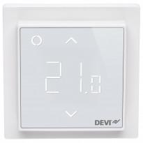 Yhdistelmätermostaatti DEVIreg Smart, kirkkaan valkoinen, Tammiston poistotuote