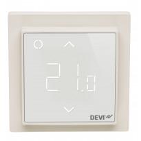 Yhdistelmätermostaatti DEVIreg Smart, luonnonvalkoinen RAL 9010