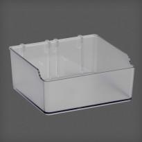 Matala laatikko Elfa Utility Home 112x48x110mm, läpinäkyvä