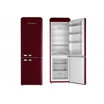 Jääkaappipakastin DBF19060, A+, 209+86l, punainen