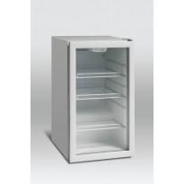 Jääkaappi DKS122, 105l, valkoinen, lasiovella