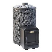 Puukiuas Stoveman Heavy 20R-M-LS, seinän läpi lämmitettävä (15-20m³)