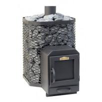 Puukiuas Stoveman 16-M-LS, seinän läpi lämmitettävä (10-16m³)