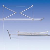 Lift-kattokuivausteline, alumiini