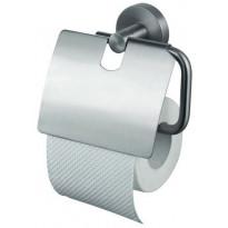 WC-paperiteline KosmosTec kannella, harjattu teräs