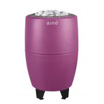 Sähkökiuas Aino-kiuas, 9kW, 8-12m³, erillinen ohjaus, Pink Clouds