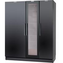 KylmäkeskusyhdistelmäFestivo Trio, 165cm, musta