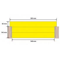 Eristelevy Finnfoam FI-K600, 210mm, seinä-, katto- ja rossipohjaeriste