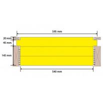 Eristelevy Finnfoam FL-K600, 210mm, seinä-, katto- ja rossipohjaeriste, 1.56m²/kpl