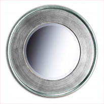 Kehyspeili Romantica, hopea, 99118S, 680mm pyöreä