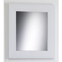 Kehyspeili Lars leveä, valkoinen, 660x760mm