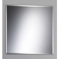 Kehyksetön peili fasetti, 600x600mm