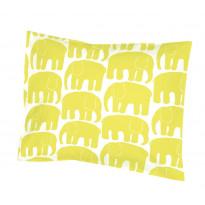 Tyynyliina, Elefantti, keltainen, 40x60