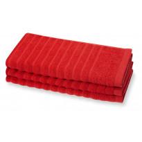 Käsipyyhe Reilu, punainen, 50x70
