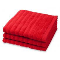 Kylpypyyhe Frotee Reilu, punainen, 70x150cm