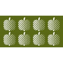 Kylpypyyhe Finlayson Optinen omena, 70x140cm, vihreä