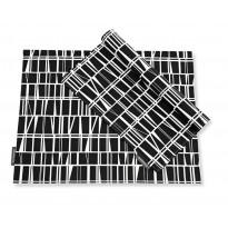 Tabletti Coronna, musta/valkoinen, 46x35