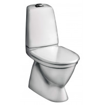 WC-istuin Nautic 5500, kaksoishuuhtelu 2/4l, piiloviemäri, S-lukko