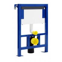 Seinä-WC-elementti Triomont GBG 2903, 6l, painonappi/huoltoluukku päällä
