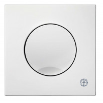 Huuhtelupainike/etulevy Triomont XS, 6 l, valkoinen