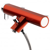 Coloric amme- ja suihkuhana, alumiinia, punainen
